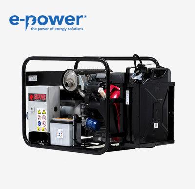 Europower EP10000E Stromerzeuger mit luftgekühltem Motor, 3000UpM, 50Hz, 4-Takt