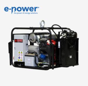 EP15054TE Stromerzeuger von Europower - Nr. 940001503 mit AVR, 230V/400V, nach BG BAU mit IP54 und GW308