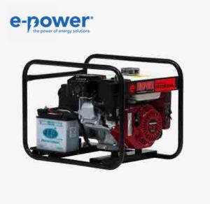 Europower EP2500E Stromerzeuger (Nr. 950000261) mit Benzinmotor und E-Starter