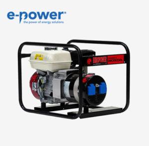 Europower EP3300 Stromerzeuger (Nr. 990000300) mit Honda GX200 Benzin-Motor