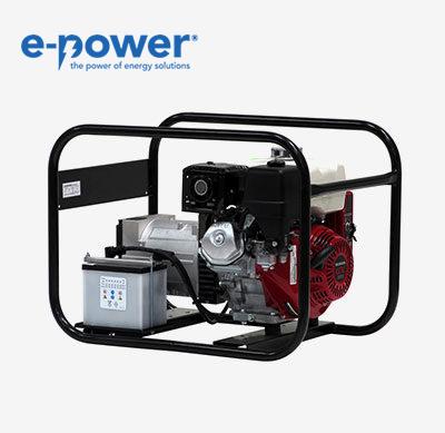 Europower Generators EP4100E Stromerzeuger 950000401 mit Elektrostart