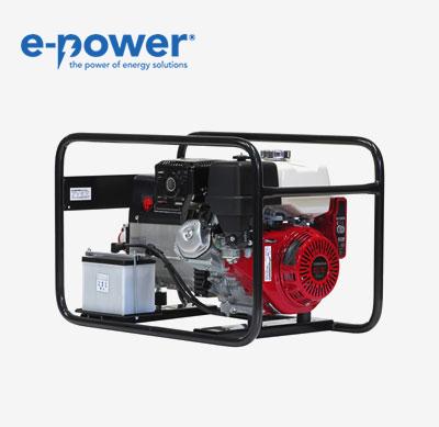 Europower EP6500TE 7.0 kVA (Benzin, 230V/400V, E-Start) mit Nr. 950000653