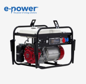 Europower EP8054 Stromerzeuger nach BG BAU (Benzin, 8.0 kVA)