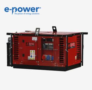 Stromerzeuger nach BG BAU EPS15054TE von Europower - Nr. 940001513 mit 15.0 kVA