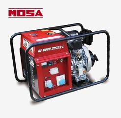 MOSA Notstromaggregat GE 6000 DES/GS-L mit Yanmar Dieselmotor