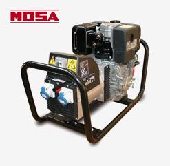 MOSA Stromerzeuger GE 4000 LDS mit Lombardini Diesel-Motor