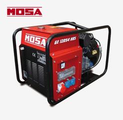 MOSA Strom-Benzinaggregat GE 12054 HBS mit Honda OHV Benzin-Motor