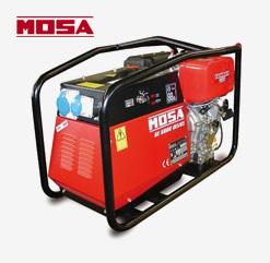 GE 6500 DS/GS & DES/GS Stromerzeuger von MOSA mitr Sicherungsautomat