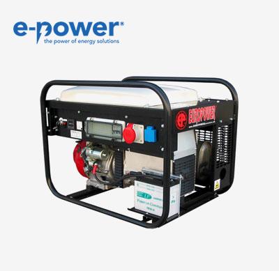 Europower Generators EP6500TE-25 Stromerzeuger (Nr. 950000659) mit Elektrostarter