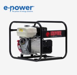 Europower EP4100 Standard-Stromerzeuger mit luftgekühltem Motor (Nr. 950000400)