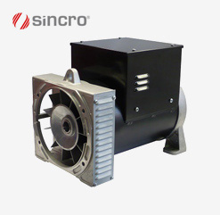 Alternator FB2 & FB4 Sincro - Brushless synchronous alternators with AVR