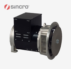 IB2 (2-polig) und IB4 (4-polig) Sincro Generator syncron und bürstenlos