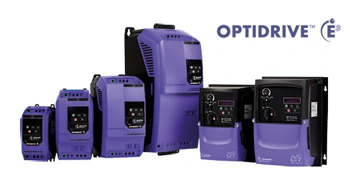 Optidrive Frequenzumrichter von Invertek - Alle Bauarten für Elektromotoren IE2, IE3 und IE4