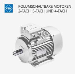 Polumschaltbare Motoren - Energiesparmotoren von VEM motors