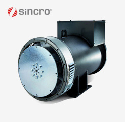 Sincro SK 225 MS Brushless Synchronous Alternators (80 kVA)