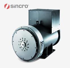 Bürstenloser Synchrongenerator SK250 (160 - 300 kVA) von Sincro