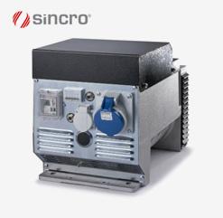FK 2 und FK 2 / R Syncrongeneratoren von Sincro