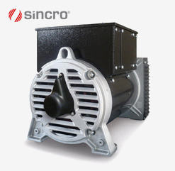 FK 2 Steel NEW by Sincro - Synchronous low voltage AC alternator