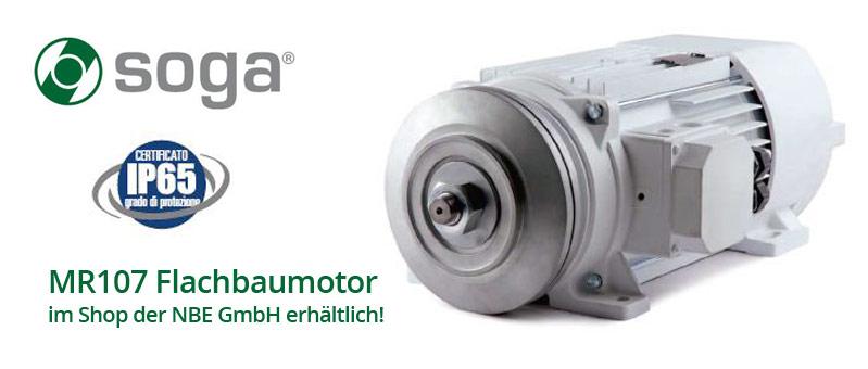 MR107 Flachbaumotor von SOGA bei NBE im Shop erhältlich