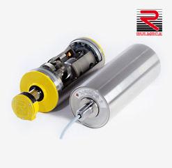 Trommelmotoren für Transport-Bandanlagen mit Stückgut