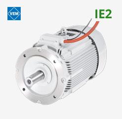 VEM Brandgasmotor IE2
