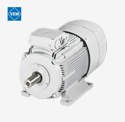 Bremsmotor von VEM motors als Drehstrom-Asyncron-Variante